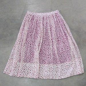 Elizabeth and James silk skirt